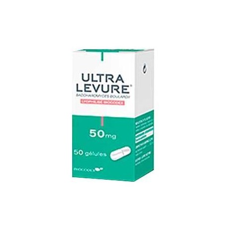 Ultra-levure 50mg 50 Gélules