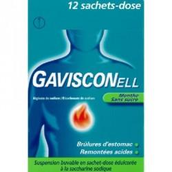 Gavisconell menthe 24 sachets