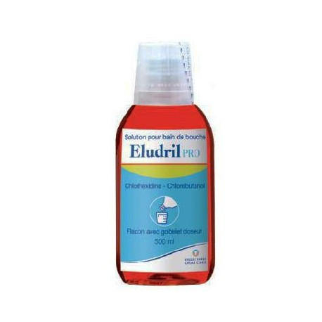 Eludril Pro 500ml bain de bouche