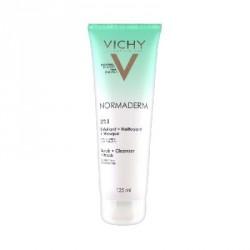 Vichy Normaderm 3en1 Exfoliant + Nettoyant + Masque 125 ml