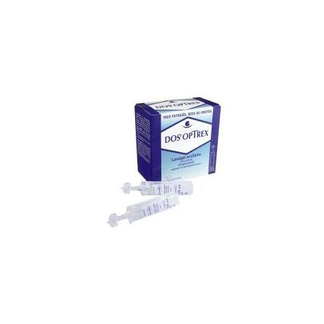 Dos'optrex lav oculaire 15x10ml
