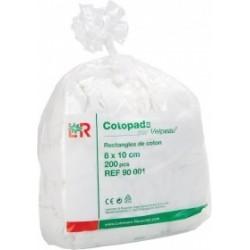 Cotopads Par Velpeau Rectangles De Coton 8x10cm - 200 Pièces