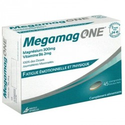 Megamag ONE Fatigue Emotionnelle et Physique 45 comprimés