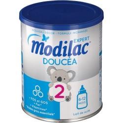 Modilac expert doucéa lait 2ème âge 800gr