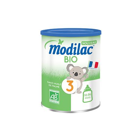 Modilac Expert Bio 3 de 10 mois à 3 ans 800g