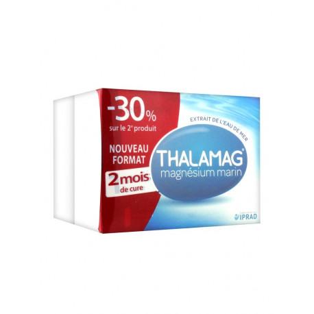 Thalamag Magnésium Marin Equilibre Lot de 2 x 60 Gélules