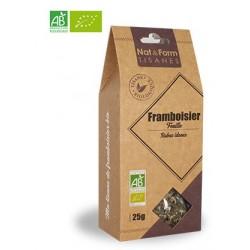 Nat&Form Tisane Framboisier Feuille