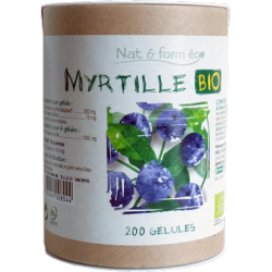 NAT&FORM ECO MYRTILLE BIO 200GEL