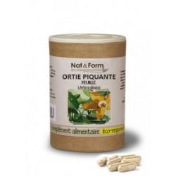 Nat & Form Ortie piquante feuilles Bio 200 gélules