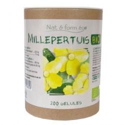 Nat & Form Millepertuis Bio 200 gélules