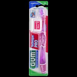 GUM Technique Pro - Brosse à dents medium, 1 unité