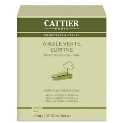 Cattier Argile Verte Surfine Bio 3kg