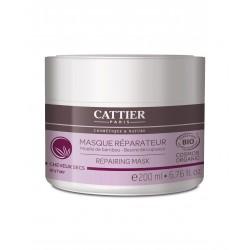 Cattier Masque Réparateur Cheveux Secs Moelle de Bambou 200 ml
