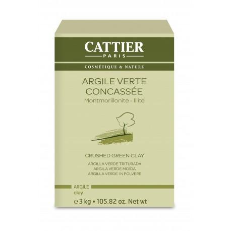 Cattier Argile Verte Concassée 3 kg