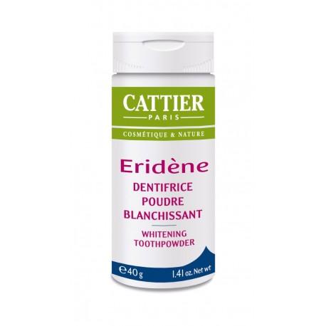 Cattier Eridène Dentifrice Poudre Blanchissant 40 g