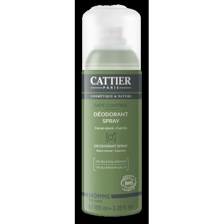 Cattier Déodorant Spray Safe Control 100ml