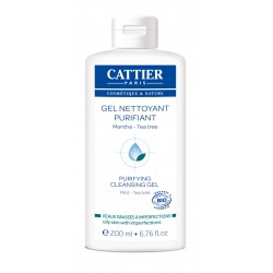 Cattier Gel Nettoyant Purifiant 200 ml