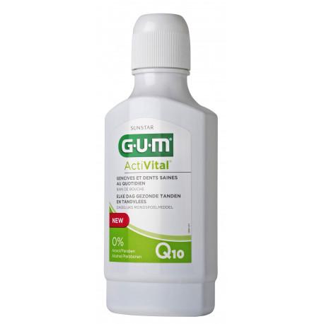 Sunstar GUM ActiVital Q10 Bain de Bouche