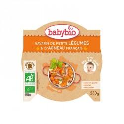Babybio Assiette Navarin de Petits légumes & d'Agneau français 230g