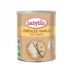 Babybio Céréales Vanille avec Quinoa 220g