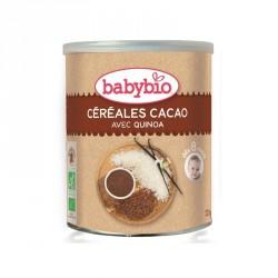 Babybio Céréales Cacao avec Quinoa 220g