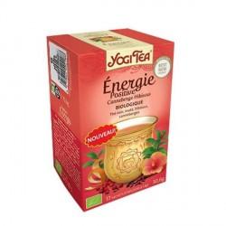 Yogi Tea Thé Noir Energie Positive 17 sachets