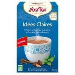 Yogi Tea Infusion Idées Claires 17 sachets