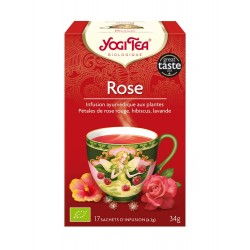 Yogi Tea Infusion Rose 17 sachets