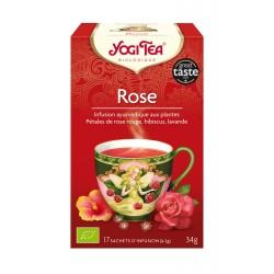 Yogi Tea Infusion Rose 17 sachets