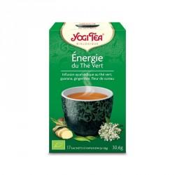 Yogi Tea Energie du Thé Vert 17 sachets