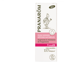 Pranarôm Huile Massage Confort Digestif