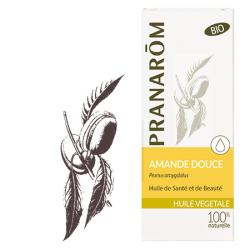 Pranarôm Huile Végétale Amande Douce Vierge 50 ml