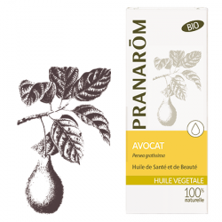 Pranarôm Huile Végétale Avocat Bio 50 ml