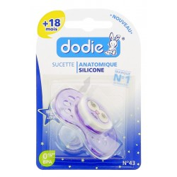 Dodie Sucette Anatomique Nuit Silicone +18 Mois A43