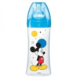 Dodie Biberon Initiation Mickey Bleu Plus de 6 Mois 330 ml