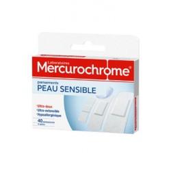 Ercurochrome Pansements Peau sensible boite de 40