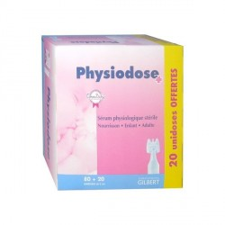 Physiodose Sérum Physiologique 5ml Boîte de 80 + 20 Offerte