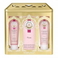 Roger&Gallet Coffret de Noël au parfum de Rose