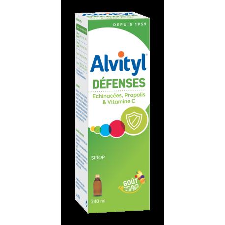 Urgo alvityl Défenses naturelles sirop sans sucre 240ml