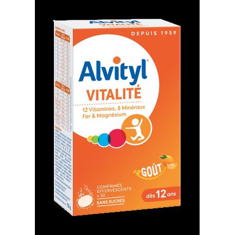 Alvityl effervescents 30 comprimés