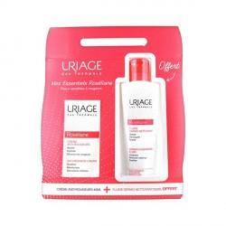 Uriage Roseliane crème anti rougeurs normale + fluide dermo nettoyant