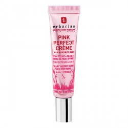 Erborian pink perfect crème soin éclat perfection 15ml
