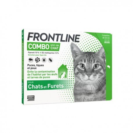 Frontline Combo pour chat 6 pipettes