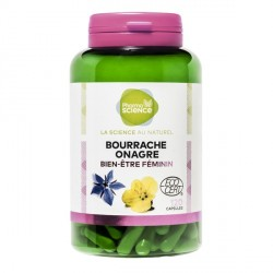 Pharmascience bourrache onagre 120 capsules