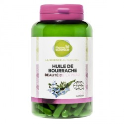 Pharmascience huile de bourrache 120 capsules