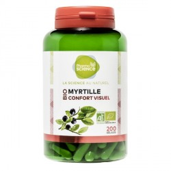 Pharmascience myrtille bio 200 gélules