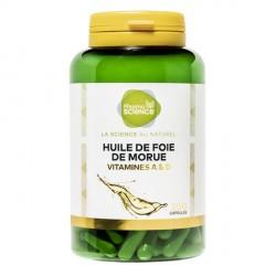 Pharmascience huile de foie de morue 200 capsules