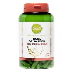 Pharmascience huile de saumon 200 capsules