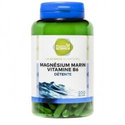 Pharmascience magnésium marin vitamine b6 détente 200 gélules