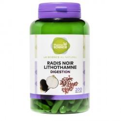Pharmascience radis noir lithothamne digestion 200 gélules